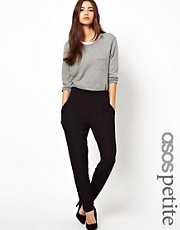 ASOS PETITE Peg Pants In Jersey