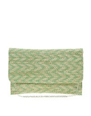 Johnny Loves Rosie ZigZag Clutch