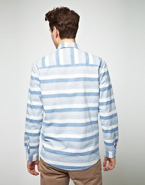 Image 2 ofSamsoe Samsoe Stripe Shirt