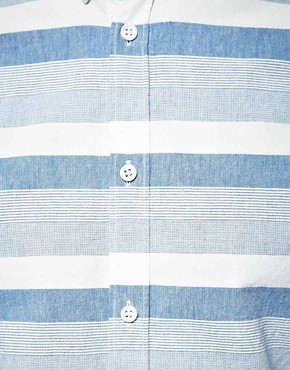 Image 3 ofSamsoe Samsoe Stripe Shirt
