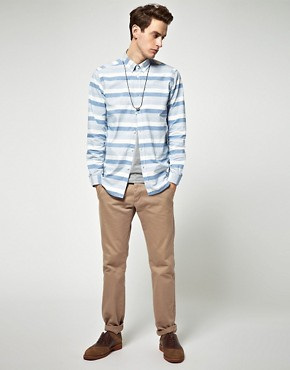 Image 4 ofSamsoe Samsoe Stripe Shirt