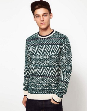 Image 1 ofASOS Fairisle Jumper