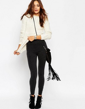 ASOS High Waisted Fluffy Super Soft Leggings