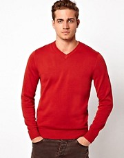 Esprit V Neck Jumper