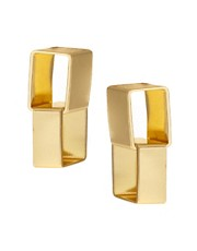 ASOS Square Link Earrings