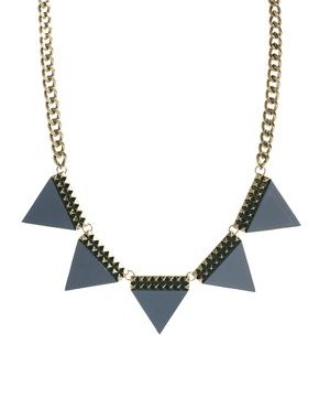 Image 1 ofASOS Big Bunting Necklace