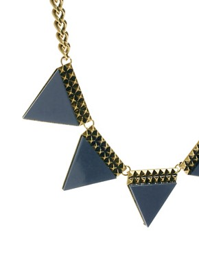 Image 4 ofASOS Big Bunting Necklace