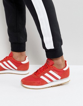 adidas Originals Haven Trainers In Red BY9714