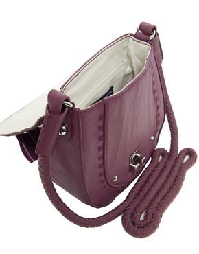Image 4 ofFrench Connection Tassle Tastic Saddle Bag