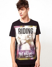 Blood Brother Fat Willy's T-Shirt Riding With