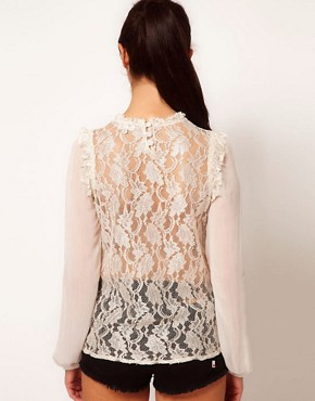 Image 2 ofRiver Island High Neck Blouse
