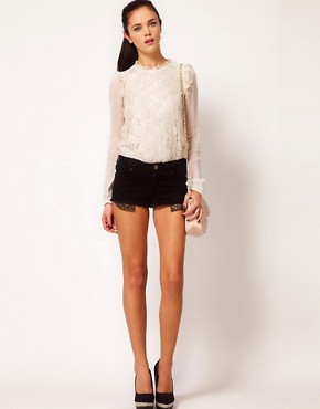Image 4 ofRiver Island High Neck Blouse