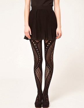 Image 1 ofGipsy Net Panel Tights