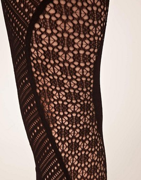 Image 2 ofGipsy Net Panel Tights
