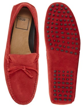 Image 3 ofASOS Driving Shoes in Suede