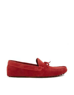 Image 4 ofASOS Driving Shoes in Suede