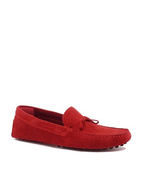 Image 1 ofASOS Driving Shoes in Suede