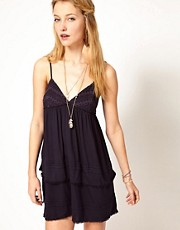 Denim & Supply By Ralph Lauren Strappy Mini Dress