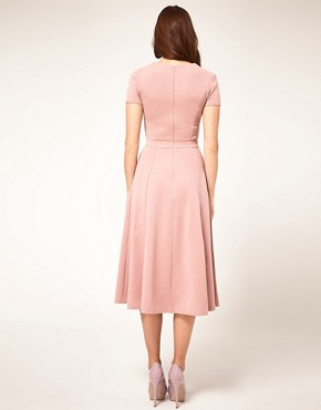 Image 2 ofASOS Midi Dress With Square Neck