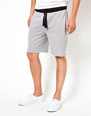 ASOS Jersey Shorts With Contrast Waistband