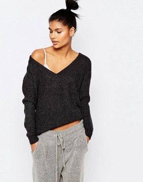 Micha Lounge Knitted V Neck Jumper