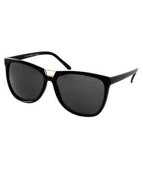 Image 1 ofASOS Bridge Detail Cat Eye Sunglasses
