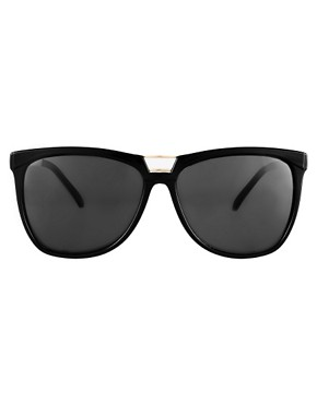 Image 2 ofASOS Bridge Detail Cat Eye Sunglasses