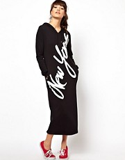 Joyrich New York Hoodie Maxi Dress