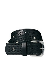 Pieces Moni Cutout Detail Belt