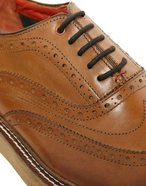 Image 2 ofTed Baker Sertil Leather Brogues