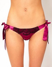 Gilda &amp; Pearl Lovers Of Montparnasse Tie Side Knicker
