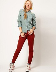Denim &amp; Supply By Ralph Lauren Coloured Skinny Jeans