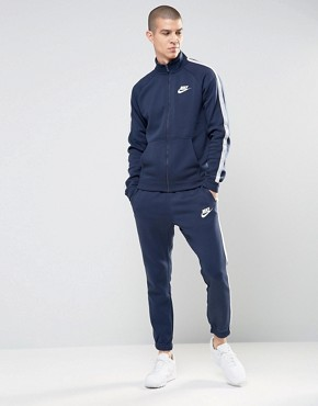 Nike Tracksuit Set In Blue 804312-451