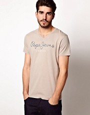 Pepe Jeans T-Shirt V Neck Logo