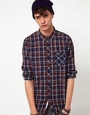 Lee Shirt 1 Pocket Contrast Check
