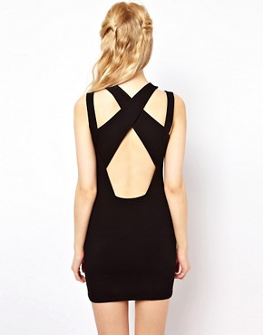 Image 2 ofRiver Island Strappy Bodycon Dress