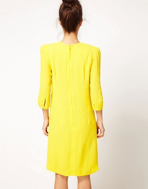 Image 2 ofPeter Jensen Classic Dress With T Dart Detail