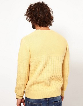 Image 2 ofPaul Smith Jeans Basket Weave Jumper
