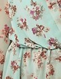 Image 3 ofLove Chiffon Floral Print Wrap Dress