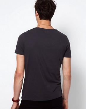 Image 2 ofASOS T-Shirt With Scoop Neck