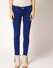 Hilfiger Denim Star Print Skinny Jeans
