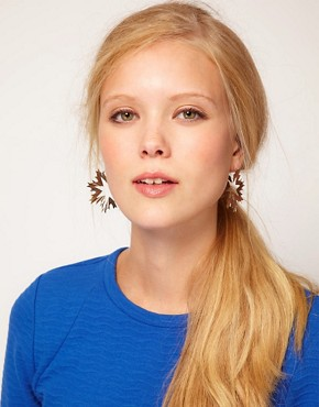 Image 3 ofZoe &amp; Morgan Revolution Hoop Earrings