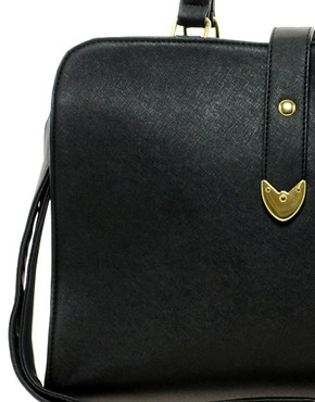 Image 2 ofASOS Smart Front Strap Bag