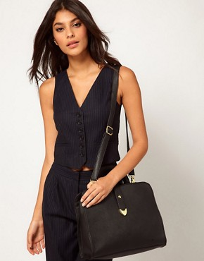 Image 3 ofASOS Smart Front Strap Bag