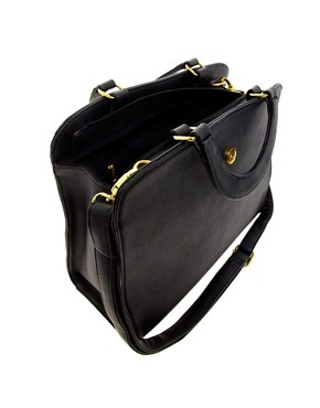 Image 4 ofASOS Smart Front Strap Bag