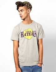 BePriv T-Shirt Haters Print Exclusive To ASOS UK