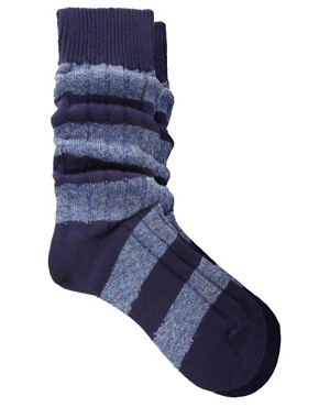 Bild 1 von Scott Nichol  Stiefelsocken mit blockfarbenen Streifen