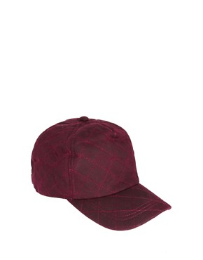 Image 1 ofASOS Quilted Baseball Cap