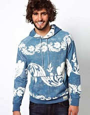 Denim &amp; Supply Ralph Lauren Hoodie With Hawaiian Print
