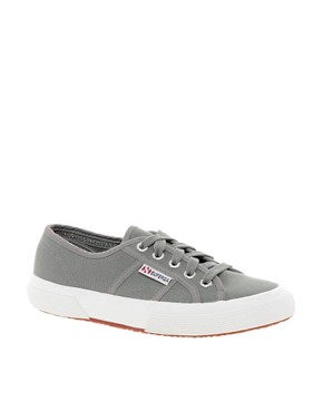 Image 1 ofSuperga Classic Flat Plimsolls